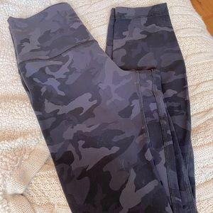 Lululemon align leggings size 4 camo